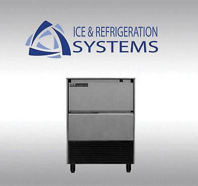 ITV 170LB COMMERCIAL UNDERCOUNTER ICE MACHINE MAKER MAKES LARGE  ICE CUBE