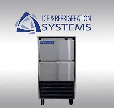 STAINLESS STEEL COMMERCIAL 60LB  UNDERCOUNTER ICE MACHINE MAKER