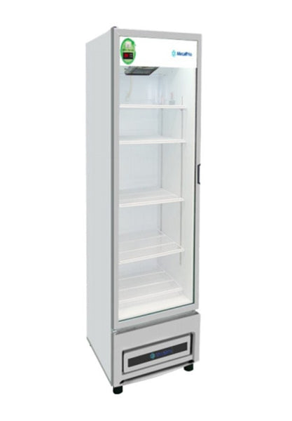 Metalfrio Commercial 9cf Glass Door Refrigerator Soda Cooler Merchandiser NG9-HC