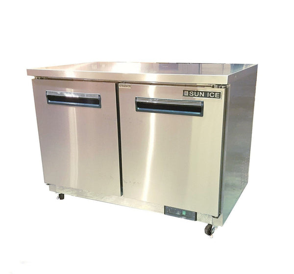 "Sun Ice 48"" Commercial Undercounter Reach In Refrigerator Cooler SUNUR48"