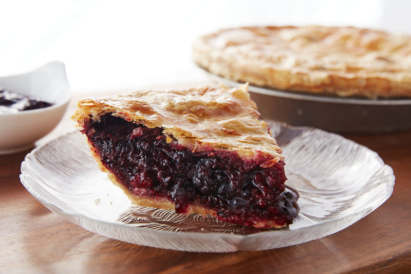 Olallieberry Pie.