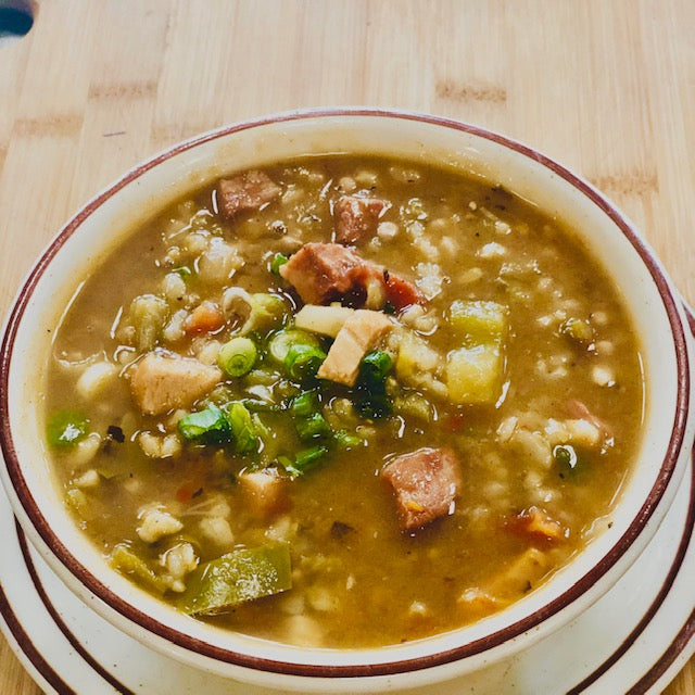 Soup: Chicken and Sausage Gumbo