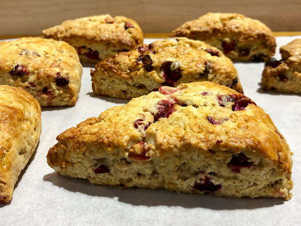 Scone - Cranberry-Oatmeal.