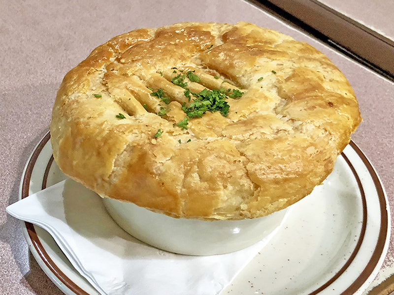Chicken Pot Pie.