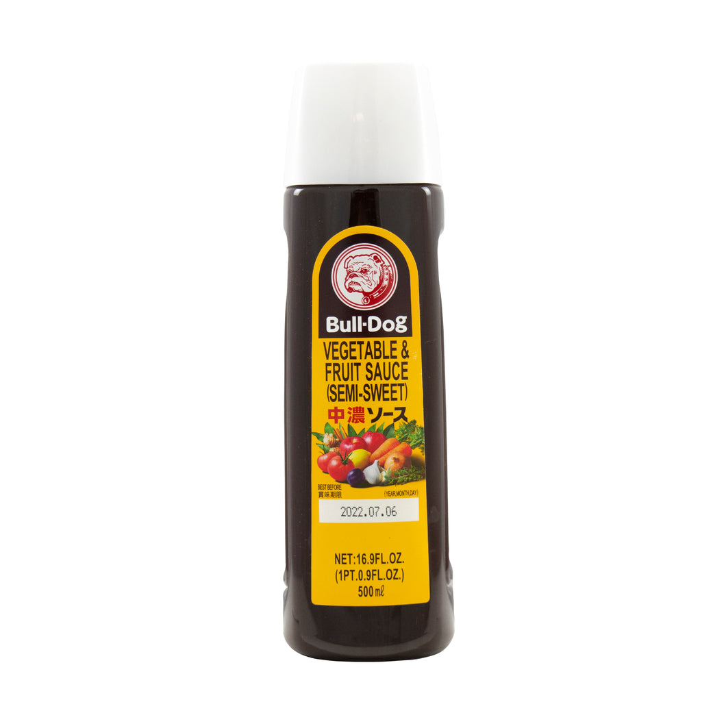 Bulldog Chuno - Japanese Brown Sauce Medium Thick 500ml