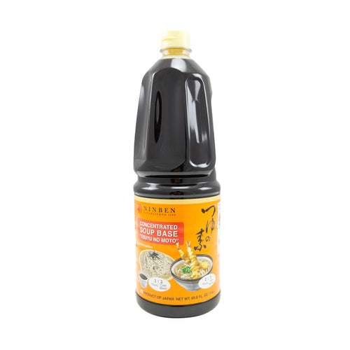 Ninben Tsuyu No Moto - Seasoned Soy Sauce - 1.8L