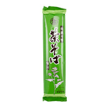 Load image into Gallery viewer, Marutsune Cha Soba - Buckwheat Noodles With Green Tea 250g
