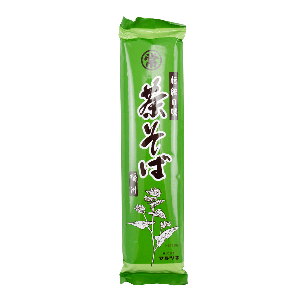 Marutsune Cha Soba - Buckwheat Noodles With Green Tea 250g