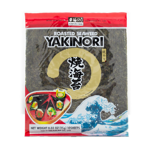 Kofuku nori Roasted Seaweed - Yakinori Red 10pc