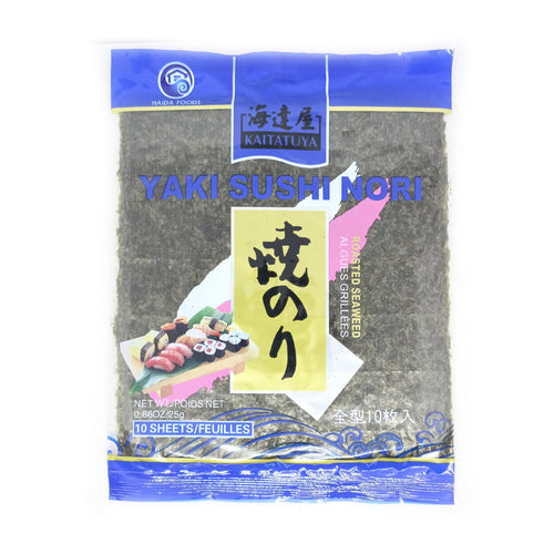 Kaitatuya Roasted Seaweed Blue Full Size 10pc