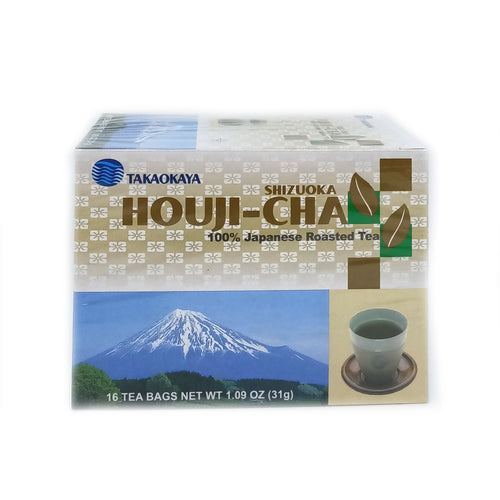 Takaokaya Houjicha Teabags - Roasted Green Tea 16pc
