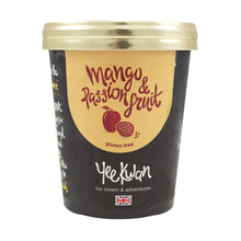 Load image into Gallery viewer, Yee Kwan Mango & Passion Fruit Ripple Ice Cream 500ml