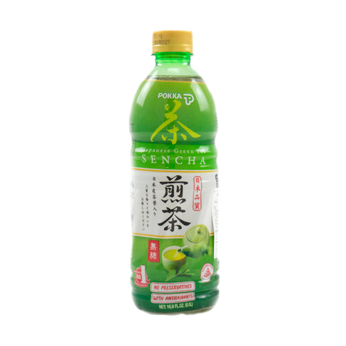 Pokka Sencha Green Tea No Sugar 500ml