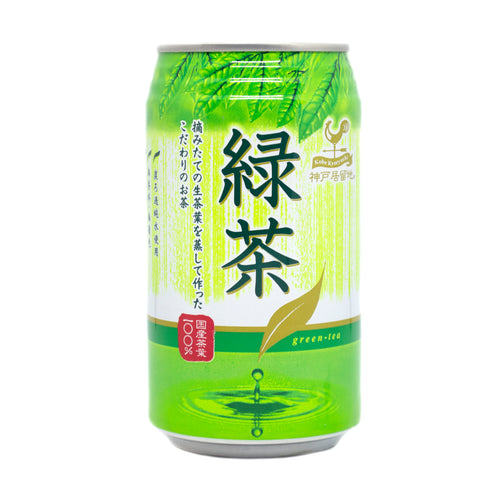Kobe Kyoryuchi Ryokucha Can - Green Tea 340g