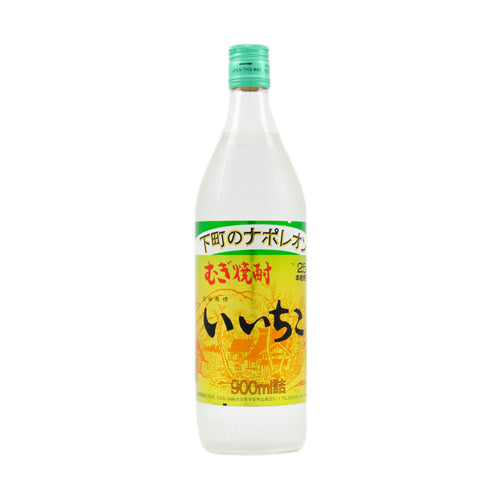Sanwa Iichiko Mugi Shochu-Barley Spirit (with Gluten) 900ml 25%