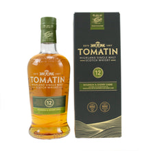 Load image into Gallery viewer, Tomatin 12 Year Single Malt Whisky 700ml 43%