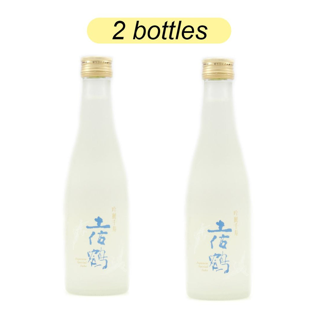 Bundle Sale - Tosatsuru Ginrei Senju Ginjo - Sake 300ml   15% - 2 Bottles