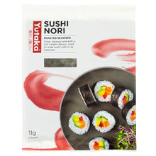 Load image into Gallery viewer, Yutaka Roasted Seaweed -Sushi Nori 11g (5pc)