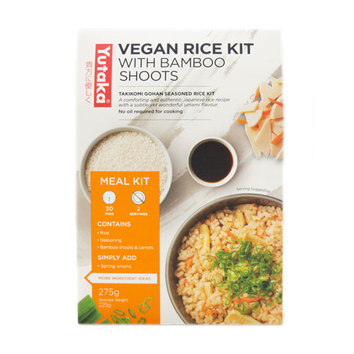 Yutaka Japanese Seasoned Rice Kit with Bamboo Shoots 275g