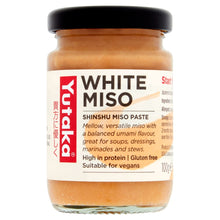 Load image into Gallery viewer, Yutaka White Miso Paste 100g