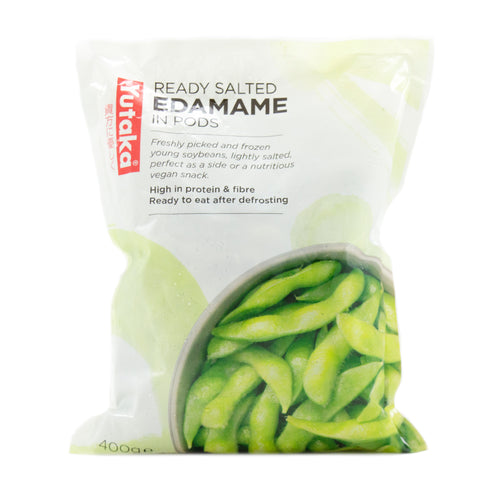 Yutaka Ready Salted Edamame Soybeans In Pods 400g