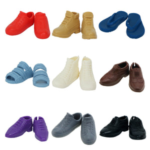 1 Pair Fashion Mixed Styles Shoes