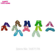 Load image into Gallery viewer, 12 Pairs Mixed Fashion Colorful High Heels Sandals
