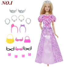 Load image into Gallery viewer, Doll Dress + Accesories