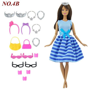 Doll Dress + Accesories