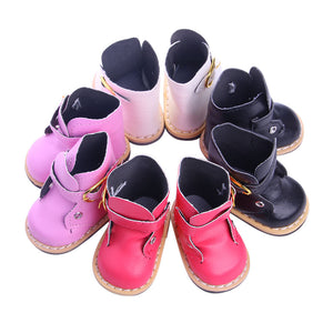 Doll Boots and Shoes with Bowknot