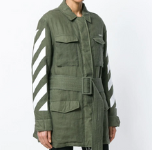 Load image into Gallery viewer, Off-White Military Jacket i lin S
