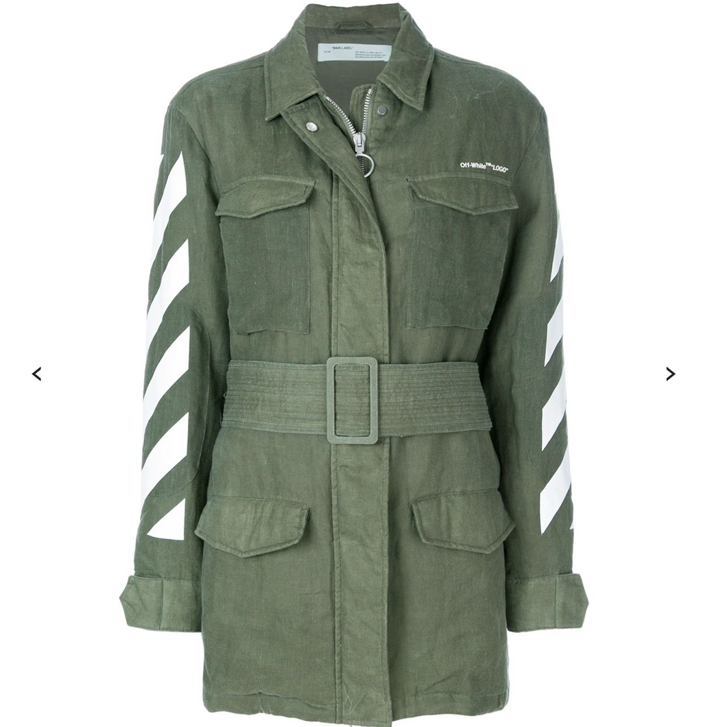 Off-White Military Jacket i lin S