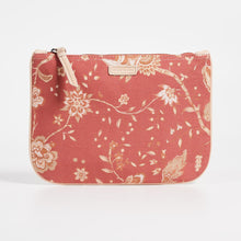 Load image into Gallery viewer, Zimmermann canvas clutch med blomsterprint