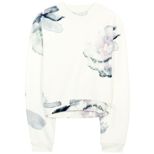 Acne Bird Print Sweat S