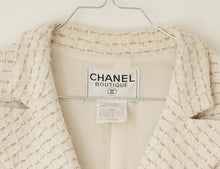 Load image into Gallery viewer, Klassisk Chanel Tweed jakke S