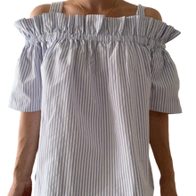Load image into Gallery viewer, Norr off-shoulder bluse M