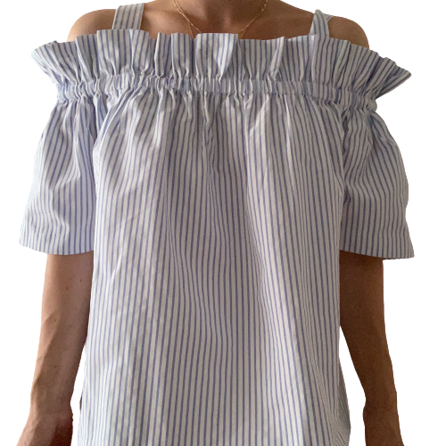 Norr off-shoulder bluse M