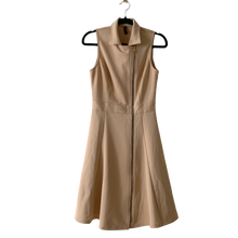 Load image into Gallery viewer, Marciano beige zipper dress XS