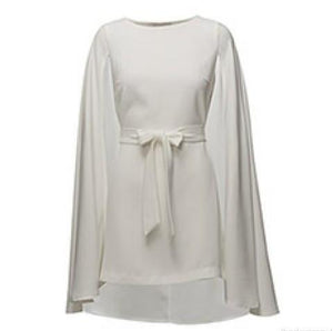 By Malina Gabby Cape Dress S