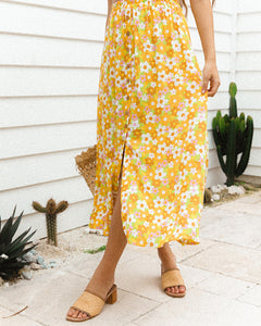 Darling Midi Skirt ~ Groove