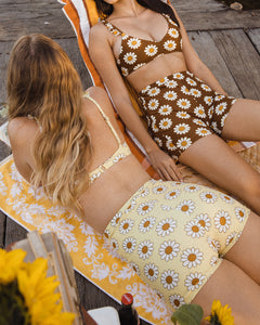 Lola Swim Shorties ~ Carmel