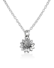 Load image into Gallery viewer, Delicate Sunflower Necklace