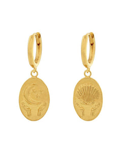 Gold Trust Earrings
