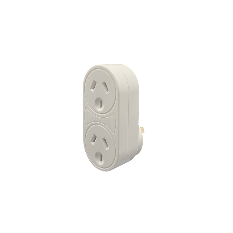 Vertical Surge Double Adaptor