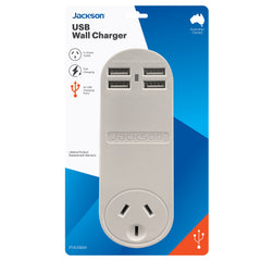 USB Charger-  4 x USB Fast Charging Ports