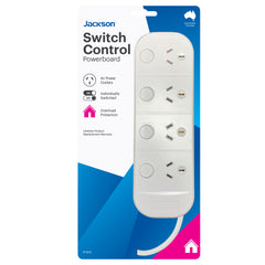 Overload Switched Powerboard- 4 Outlet