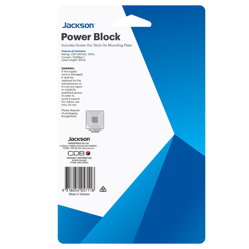 Power Block- 5 Outlet
