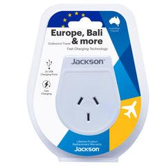 Outbound Slim USB Travel Adaptor- EU