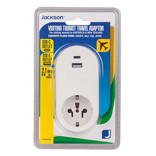 Inbound USB-A & C Travel Adaptor- USA & EU