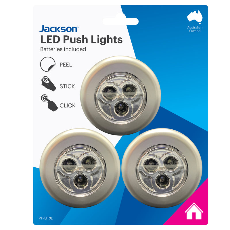 LED Push Lights